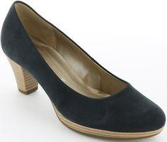 Pantofi cu toc Gabor din piele. Peep Toe, Shoes, Fashion, Moda, Zapatos, Shoes Outlet, Fashion Styles, Shoe, Footwear