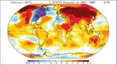 NASA issues a global warning - as February-2016 temperatures smash all records.
