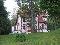 Old house in Bielawa woods by talliskeeton, via Flickr