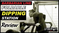 Barbarian Line Wall Mount Foldable Dip Bars Review
