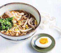 Light version of delicious Soup Ramen/Kevyt Ramen-keitto Missoni, Tofu, Ramen, Feel Good, Good Food, Cooking, Ethnic Recipes, Anna, Soups