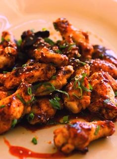 Recipe: Mesa Grill Chipotle-Honey Glazed Chicken Wings with Sesame and Green Onion (with photo) - Recipelink.com