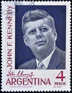 Picture of ARGENTINA - CIRCA A stamp printed in Argentina shows president John F Kennedy, circa 1964 stock photo, images and stock photography. John F Kennedy, Jfk Kennedy, Rare Stamps, Vintage Stamps, Commemorative Stamps, Postage Stamp Art, Stamp Printing, Stamp Collecting, My Stamp