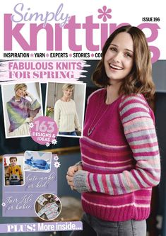 Learn more about Simply Knitting in the Onondaga County Public Library digital collection. Free Crochet, Knit Crochet, Read Magazines, Simply Knitting, Wordpress Website Design, Knitting Books, Knitting Magazine, Bronde Haircolor, Journal