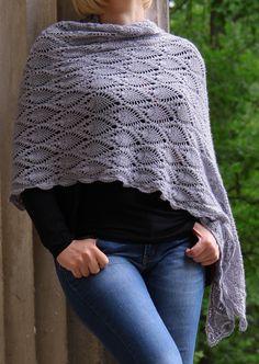 Crochet shawl, szydełkowy szal