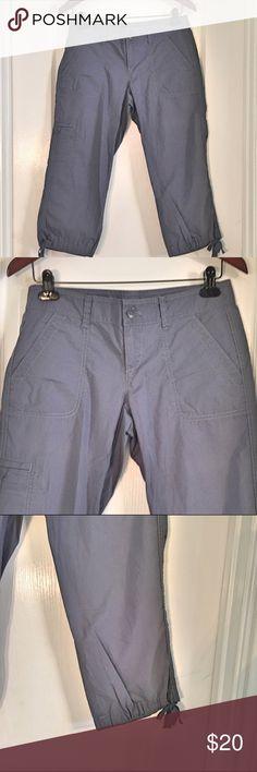 "NWT Ann Taylor Loft Slate Blue Capri Cargo Pants NWT Ann Taylor Loft Slate Blue Capri Cargo Pants ~ Size 0 ~ Pockets ~ Waist is approximately 16"" ~ Inseam is approximately 21"" ~ Length is approximately 29"" Ann Taylor Pants Capris"