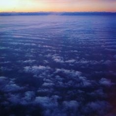 """CLOUDS COME FLOATING INTO MY LIFE NO LONGER TO CARRY RAIN OR USHER STORM BUT TO ADD COLOR TO MY SUNSET SKY"" -  #tagore #waves #clouds #sky #travel #flying #comeawaywithme #whatawonderfulworld #blue"