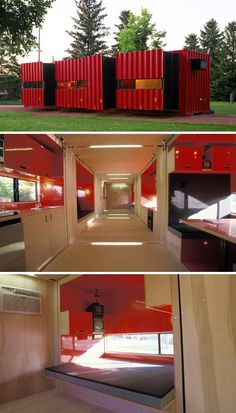 If You Were Hesitant to Live In A Shipping Container, This Will Change Your Mind Container Cabin, Container Houses, Cargo Container, Building A Container Home, Container Pool, Container House Design, Container House Plans, Shipping Containers, Shipping Container Buildings