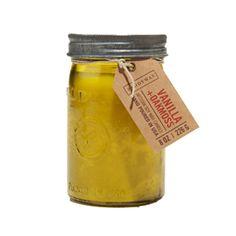 Oakmoss Mason Jar Candle | dotandbo.com
