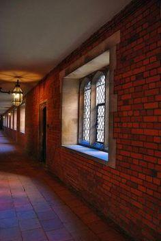 passageway at Hampton Court Palace