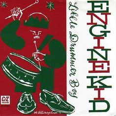 Silkworm Engine Kid Christmas Split 7in CZ 1994 Indie Drummer Boy + Midwinter #Christmas