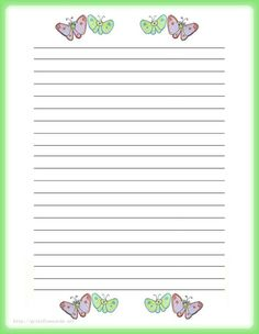 7 Best Images of Printable Lined Stationery Paper Free For Adults - Free Printable Lined Writing Paper Template, Free Printable Lined Writing Paper Stationery and Free Printable Stationery Writing Paper Printable Lined Paper, Free Printable Stationery, Kids Stationery, Stationery Paper, Lined Writing Paper, Writing Papers, Kids Writing, Letter Writing, Notebook Paper