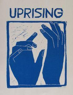 UPRISING hands poster