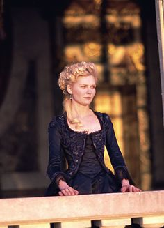 Marie Antoinette. Love the color of and the dress <3
