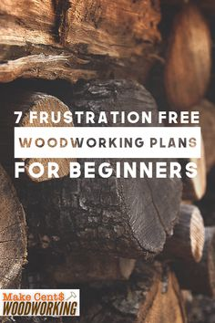 Woodworking Projects for beginners that actually work can be hard to find. Missing steps and confusing instructions can be a pain. Check out these 7 frustration free woodworking plans for beginners that will actually be fun to make for new DIY ers. Woodworking School, Woodworking For Kids, Beginner Woodworking Projects, Woodworking Guide, Woodworking Classes, Popular Woodworking, Woodworking Furniture, Woodworking Articles, Woodworking Jigsaw