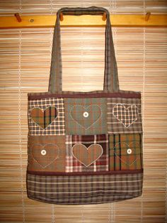 Patchwork bag                                                     Love the colours & fabrics