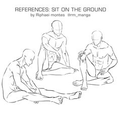 Human Figure Drawing Reference sitting on the ground - Sitting Pose Reference, Male Pose Reference, Body Reference Drawing, Drawing Reference Poses, Anatomy Reference, Hand Reference, Drawing Poses Male, Human Figure Drawing, Guy Drawing