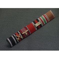 SS General Karl Wolf's Ribbon Bar