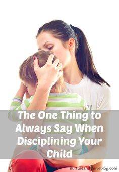 Discipline and young children. Help kids change their behavior by empowering them-- try this one phrase!