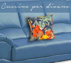 Tutorial passo dopo passo per realizzare un facile #cuscino per #divano fai da te.