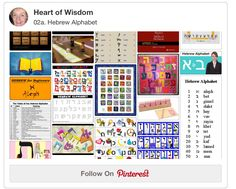 Hebrew Alphabet Resources & PDFs   BibleJournalLove