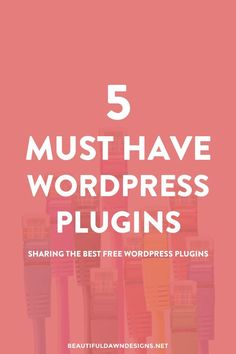 Sharing the best free WordPress plugins. These 5 plugins are a must-have for your WordPress blog.