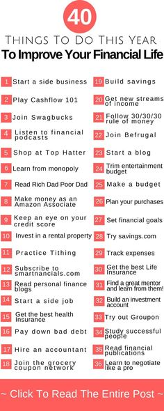 These 36+ amazing ways to improve your finances are truly the BEST! Click through to read them now!