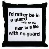 I like not having a life during guard season