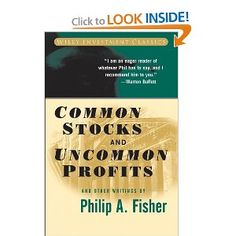 Common Stocks and Uncommon Profits .
