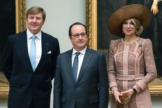 March 10, 2016.. ♥•✿•QueenMaxima•✿•♥... And King Willem Alexander visit France Day 1