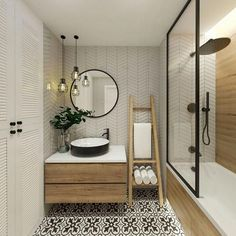 "✔ modern bathroom design ideas plus tips 68 > Fieltro.Net""> ✔ modern bathroom design ideas plus tips 68 Related - Ensuite Bathrooms, Bathroom Renos, Bathroom Renovations, Small Bathroom, Master Bathroom, Remodel Bathroom, Basement Bathroom, Bathroom Vanities, Small Bathtub"