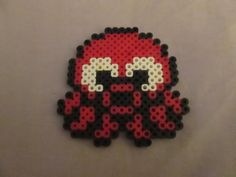 Perler Bead Cute Octopus Hair Clip- Available in a Variety of Colors! on Etsy, $4.00