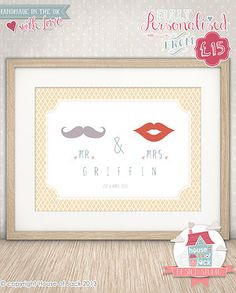 House of Jack Personalised Art, Personalised Gifts and Graphic Design | Love is in the Air