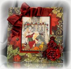 Elegant Christmas by busysewin - Cards and Paper Crafts at Splitcoaststampers Elegant Christmas, New Artists, Stamping, Paper Crafts, Sweet, Projects, Cards, Classy Christmas, Candy
