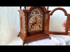Just listed on eBay, 0.99 starts this Stunning Vintage Warmink Dutch Burl Wood Strikes To Bell Bracket Clock 1962 http://cgi.ebay.co.uk/ws/eBayISAPI.dll?ViewItem&item=371109923106