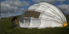 mollusc opening and closing tent