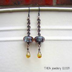 Art Jewelry Elements: Wire Macrame Earring Tutorial