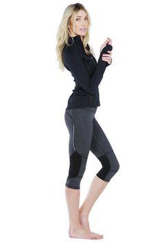 Roxy Outdoor Fitness Get Faster Capri