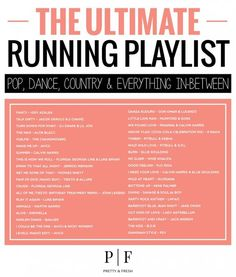 The Ultimate Running Playlist 40 Songs Pop Dance Country Alles dazwischen burnbellyfatfast is part of health-fitness - Die ultimative LaufPlaylist 40 Songs Pop Dance Country Alles dazwischen burnbellyfatfast Source by diamontsgal Music Mood, Mood Songs, Running Music, Songs For Running, Running Tips, Running Pose, Woman Running, Running Training, Chubby