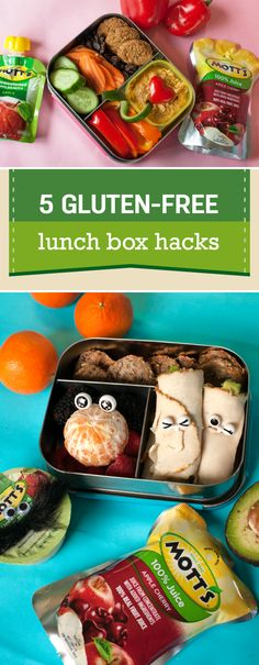 Your kiddo's food allergy can make lunch packing a bit more complicated. But not to fear, these 5 Gluten-Free Lunch Box Hacks make great inspiration for good-for-you and fun recipes to try with your little ones! When paired with one of the three new flavors of the Mott's 100% Juice Pouches—Apple, Apple White Grape, and Apple Mango—this meal idea will really come together. Plus, since you can pick up everything you need from your local Publix, it's easy to meal prep for back-to-school season.