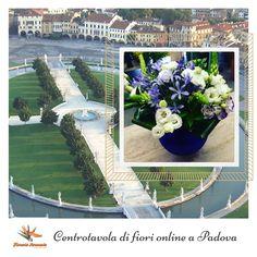 Centrotavola+di+fiori+online+a+Padova