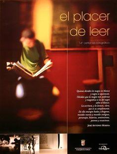 El Placer de leer. 14º certamen fotográfico / Fotografía Javier Arcenillas Pérez (2007)