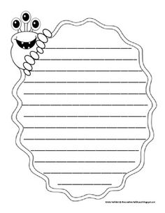 Page Clipart Writing, Picture Page Clipart Writing pertaining to Report Writing Template - Creative Template Ideas Monster Classroom, Monster Clipart, Book Report Templates, Writing Pictures, Monster Book Of Monsters, Report Writing, Writing Activities, Writing Lessons, Fun Activities
