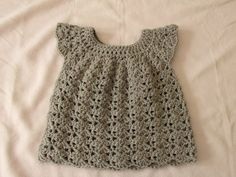 Infant Crochet dress for beginners: