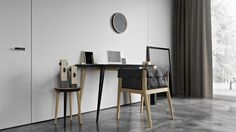 This designer table looks perfect for a stylish interior. You can imagine it in different colors and contexts if you order a 3D #visualization of your design today. Learn more at archicgi.com.