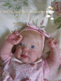 Bebe Reborn Marina Clara Pronta Entrega