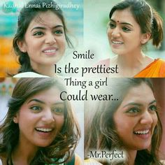 Nazriya nazim ❤️❤️ Girly Attitude Quotes, Girl Attitude, Sweet Quotes, Best Love Quotes, Movie Quotes, Life Quotes, Filmy Quotes, Quotes About Strength And Love, Whisper Quotes