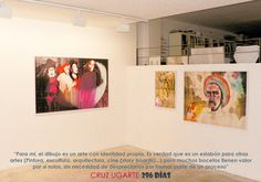 Artista: CRUZ UGARTE; Exposición: 296 DÍAS (Noviembre 2008 - Enero 2009).