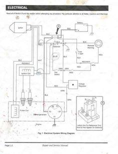 gas ezgo wiring diagram ezgo golf cart wiring diagram e