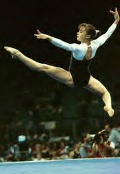 1996 Olympic Champion Lilia Podkopayeva of Ukraine